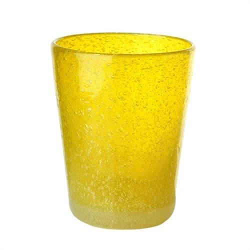 Elegant Living GLASS HE YELLOW