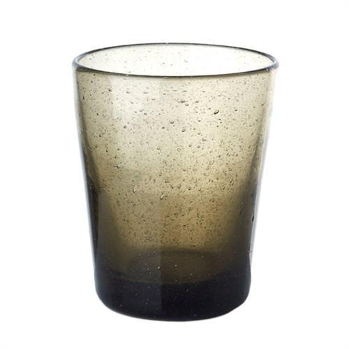 Elegant Living GLASS HE GREY BLACK
