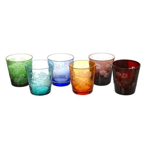 Elegant Living GLASS BLOSSOM SET 6