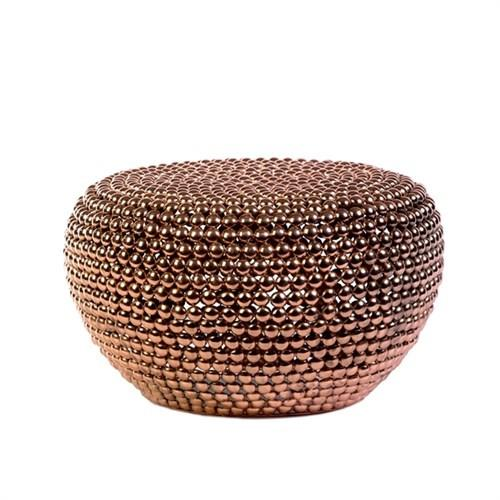 Elegant Living DOT STOOL COPPER LOW
