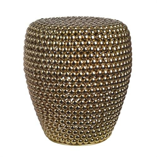 Elegant Living DOT STOOL BRASS