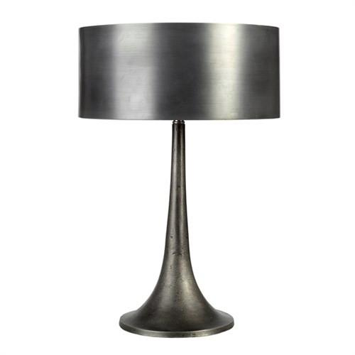 Elegant Living LAMP MODERN & METAL SHADE