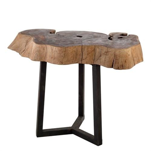 Elegant Living ROOT TABLE IRON LEGS