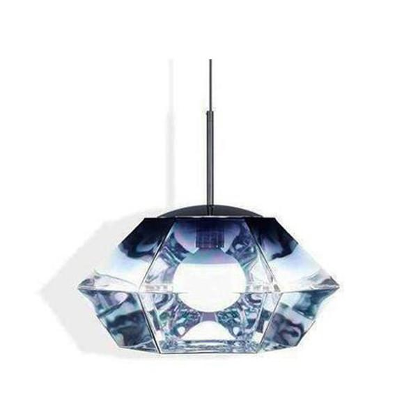 Elegant Living ПЕНДАНТ CUT SHORT SMOKE TOM DIXON