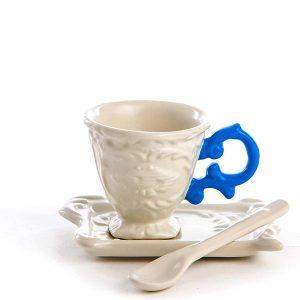 Elegant Living ЧАША ЗА КАФЕ I-WARES BLUE SELETTI