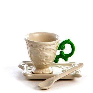 Elegant Living ЧАША ЗА КАФЕ I-WARES GREEN SELETTI