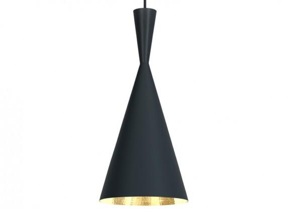 Elegant Living ПЕНДАНТ BEAT TALL BLACK TOM DIXON