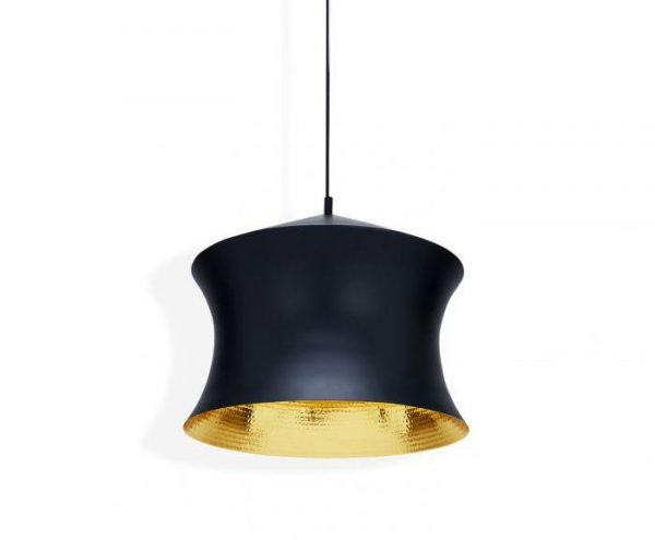Elegant Living ПЕНДАНТ BEAT WAIST BLACK TOM DIXON