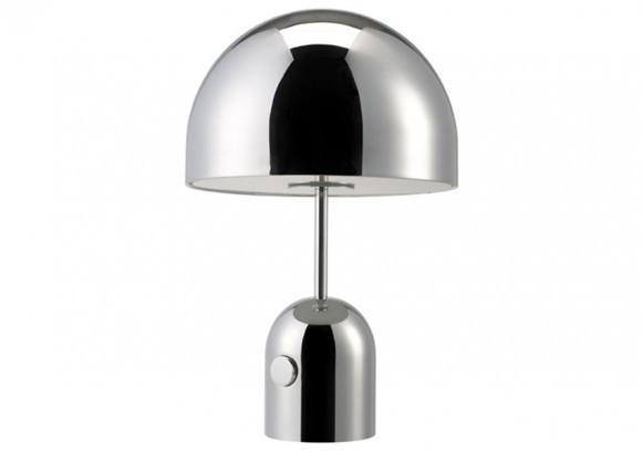 Elegant Living BELL CHROME TABLE LIGHT TOM DIXON