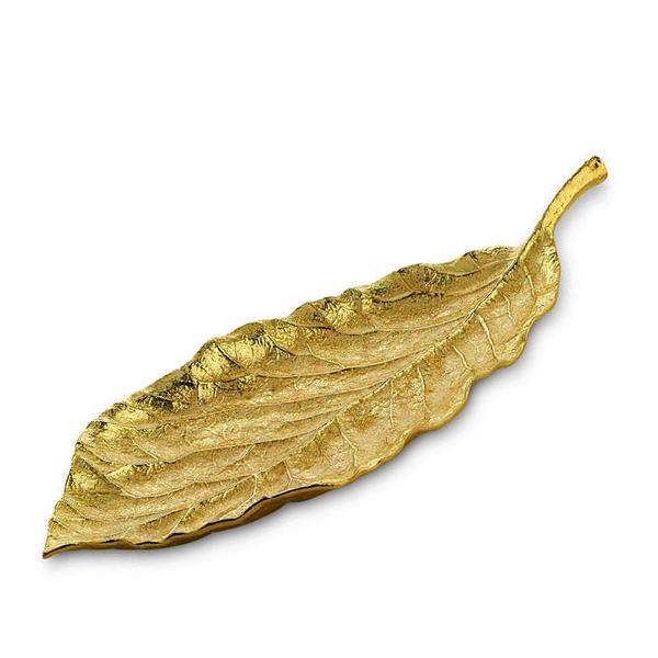 Elegant Living ДЕКОРАТИВЕН СЪД MAGNOLIA MEDIUM PLATTER GOLD