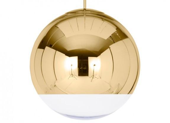 Elegant Living MIRROR BALL GOLD 50CM