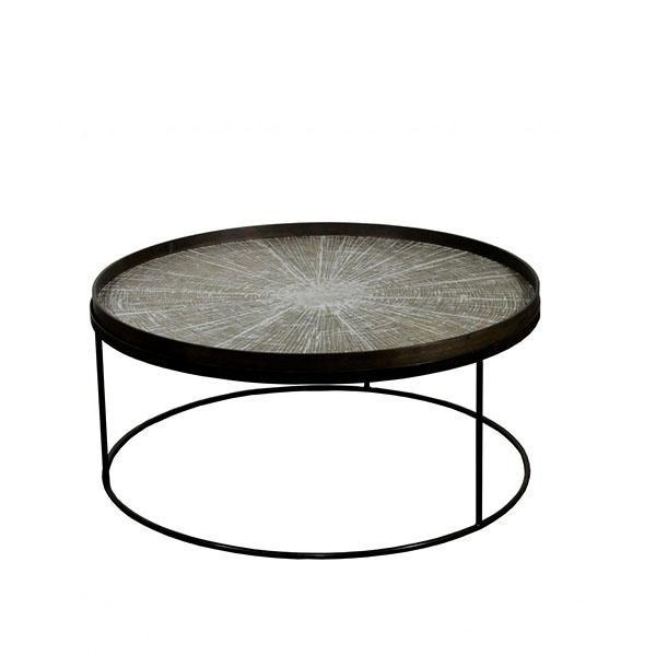 Elegant Living ROUND TRAY TABLE – LOW – XL