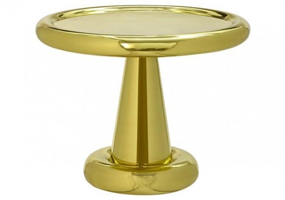 Elegant Living SPUN SHORT TABLE TOM DIXON