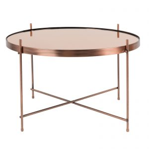 Elegant Living ПОМОЩНА МАСА CUPID L COPPER ZUIVER