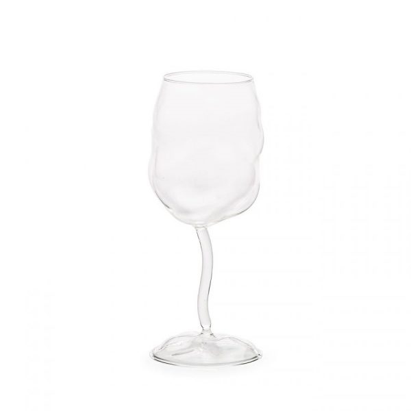 Elegant Living ЧАШИ ЗА ВИНО GLASS FROM SONNY SELETTI X 4