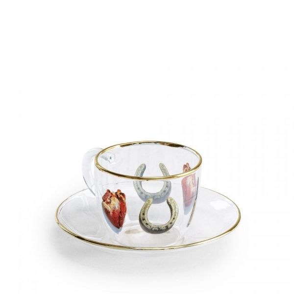чаша за кафе seletti toiletpaper i love you
