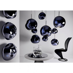 Elegant Living АПЛИК MELT SMOKE LED TOM DIXON
