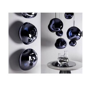 Elegant Living ПЕНДАНТ MELT MINI SMOKE TOM DIXON
