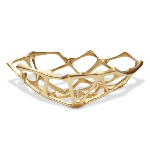 Elegant Living КУПА BONE SMALL BRASS TOM DIXON