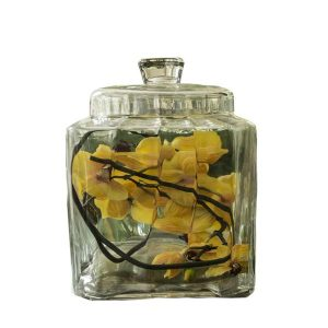 Elegant Living GLASS JAR