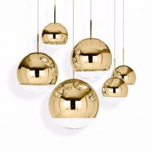 Elegant Living MIRROR BALL GOLD 40CM