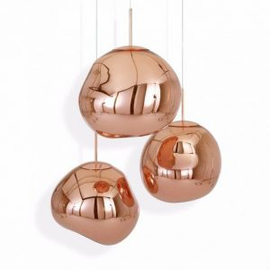 Elegant Living ПЕНДАНТ MELT MINI COPPER TOM DIXON
