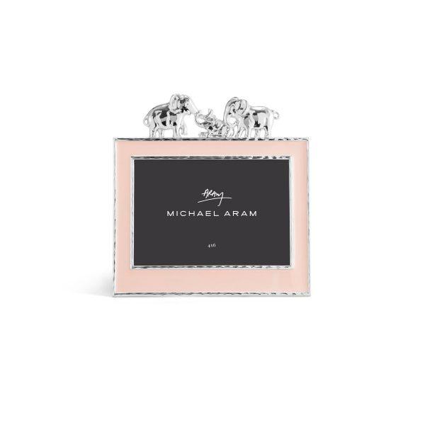 Elegant Living РАМКА ЗА СНИМКА ELEPHANT PINK ENAMEL 4X6