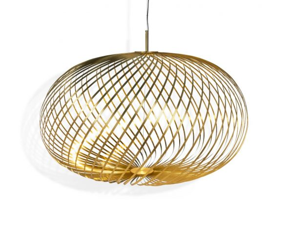Elegant Living ПЕНДАНТ SPRING BRASS L TOM DIXON