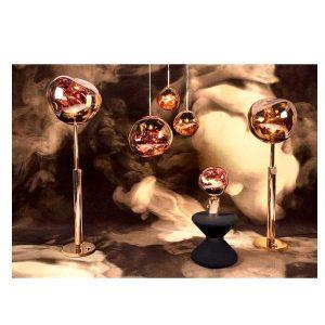 Elegant Living MELT TABLE LIGHT COPPER TOM DIXON