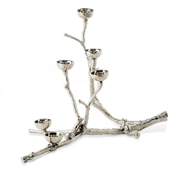 свещник pols potten twiggy with squirrels silver