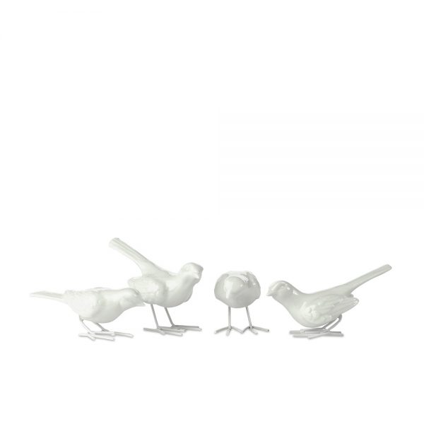 Elegant Living ДЕКОРАЦИЯ STARLING IRONLEGS WHITE SET4