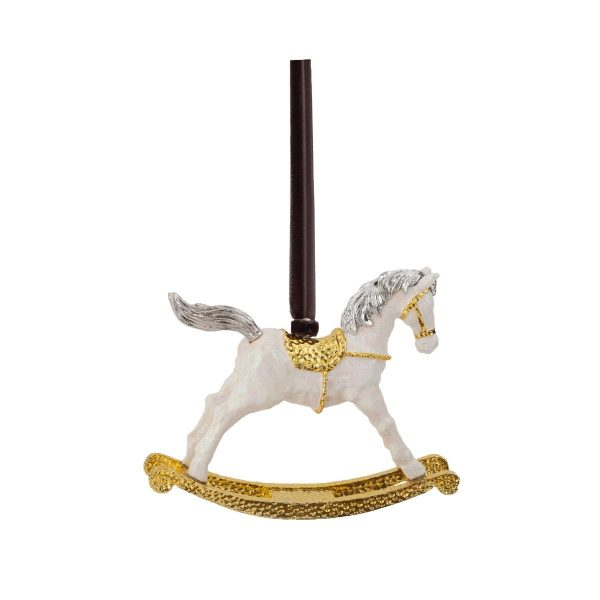 Elegant Living КОЛЕДНА УКРАСА ROCKING HORSE