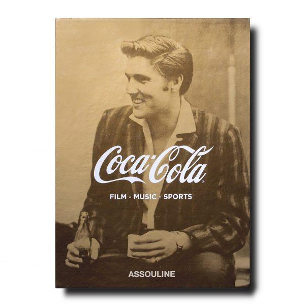 Elegant Living КНИГА COCA-COLA SET OF THREE: FILM, MUSIC, SPORTS