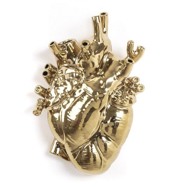 Elegant Living ВАЗА LOVE IN BLOOM GOLD SELETTI
