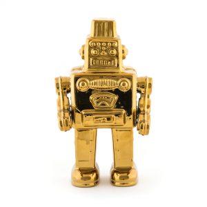 Elegant Living MEMORABILIA GOLD MY ROBOT SELETTI