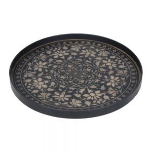 Elegant Living ПОДНОС BLACK MARRAKESH