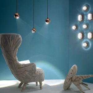 Elegant Living АПЛИК SPOT OBROUND COPPER TOM DIXON