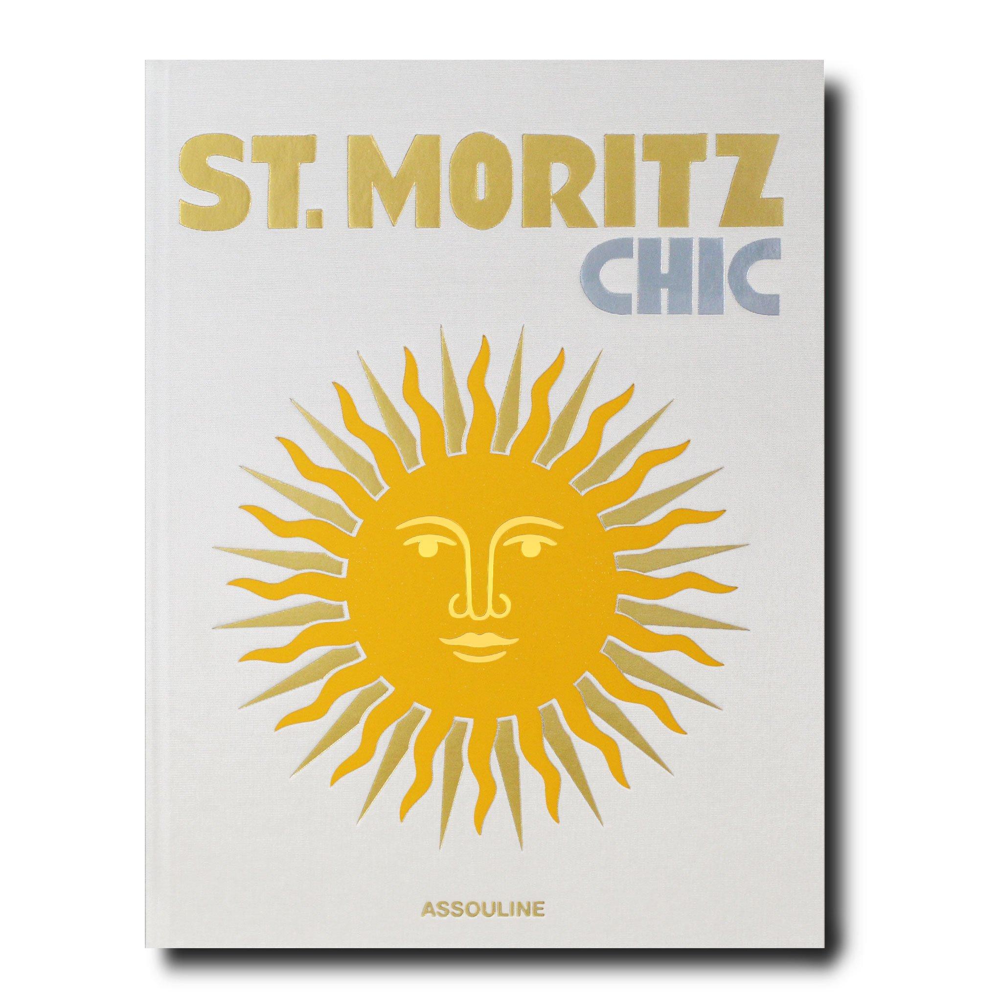 Elegant Living КНИГА ST. MORITZ CHIC