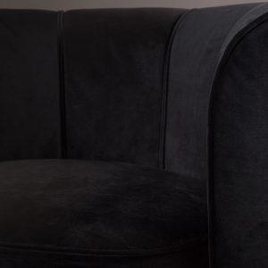Elegant Living КРЕСЛО FLOWER BLACK DUTCHBONE