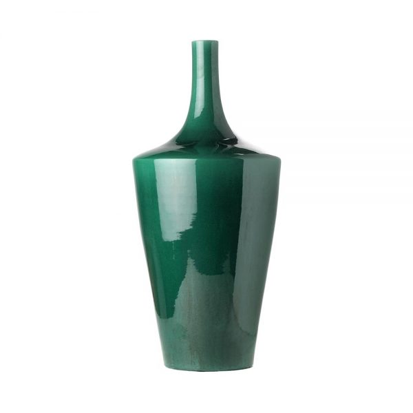 Elegant Living ВАЗА CONICAL GREEN IMPERIAL M