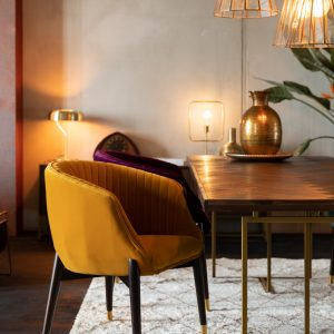 Elegant Living СТОЛ DOLLY OCHRE DUTCHBONE