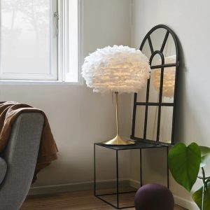 Elegant Living ОСНОВА ЗА НАСТОЛНА ЛАМПА CHAMPAGNE TABLE BRUSHED BRASS