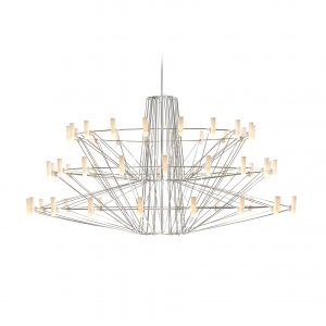 Elegant Living COPPELIA SUSPENDED CHROME LARGE MOOOI