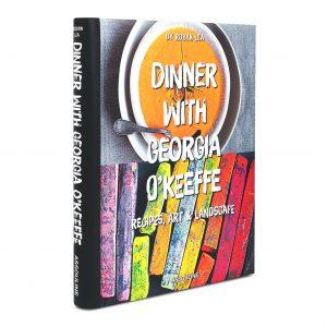 Elegant Living КНИГА DINNER WITH GEORGIA O'KEEFFE