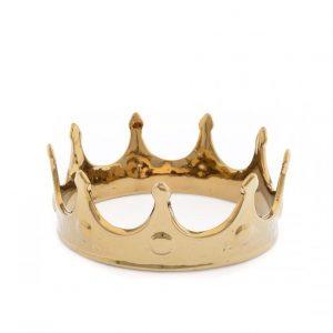Elegant Living MEMORABILIA MY CROWN GOLD SELETTI