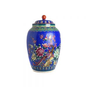 Elegant Living БУРКАН CONDIMENT POT QIANLONG BLUE