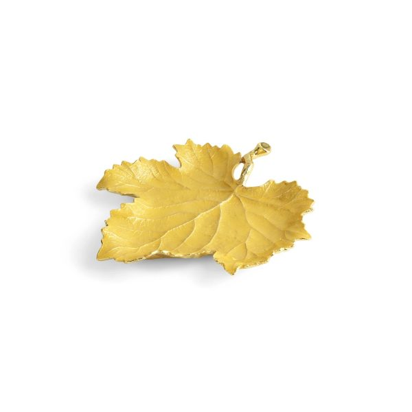 Elegant Living ПЛАТО VINE YELLOW GRAPE LEAF