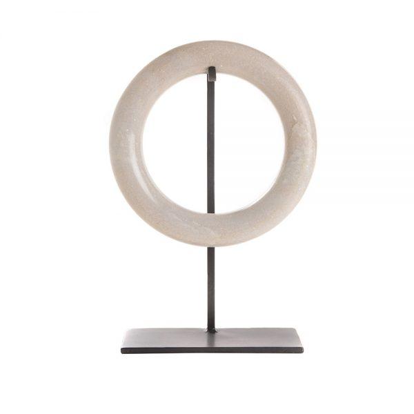 Elegant Living ДЕКОРАЦИЯ MARBLE CIRCLE ON STAND L