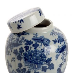 Elegant Living БУРКАН GINGER POT ROUND BIRDS