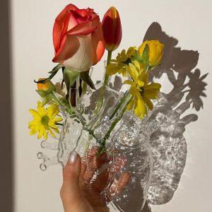 Elegant Living ВАЗА LOVE IN BLOOM GLASS SELETTI